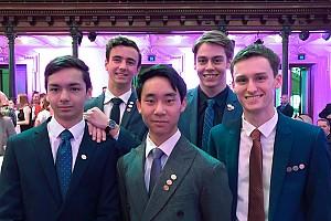 Prince Edward Presents Duke of Edinburgh Awards