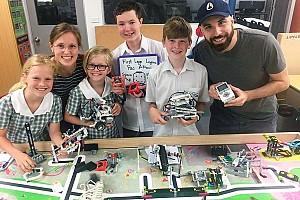 Inaugural Lego Robotics Team Scores Podium Finish