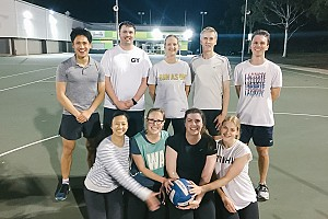 Netball Triumph for Science Staff