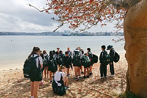 Year 6 visits the Quarantine Station